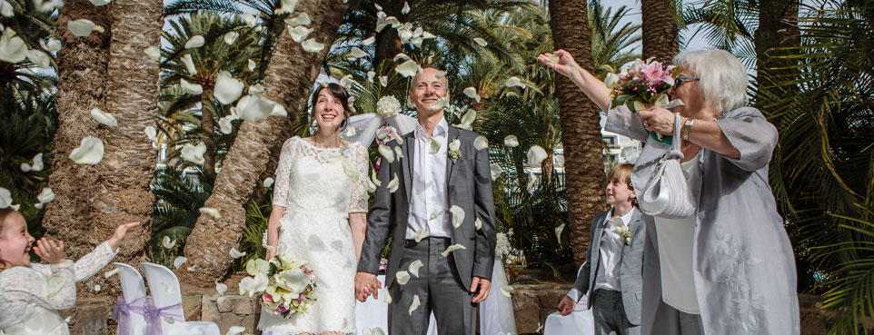 Bryllup på Gran Canaria